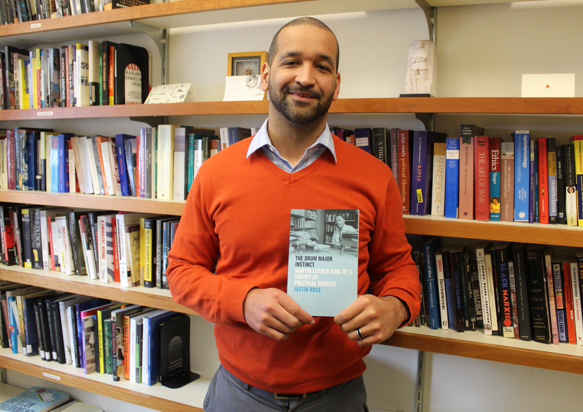HWS professor publishes book on MLK's theory of political service