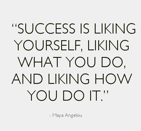 &quot;Success is liking yourself, liking what you do, and liking how you do it.&quot; - Maya Angelou #ThursdayThoughts #MotivationalQuotes<br>http://pic.twitter.com/w5wz7vRk51