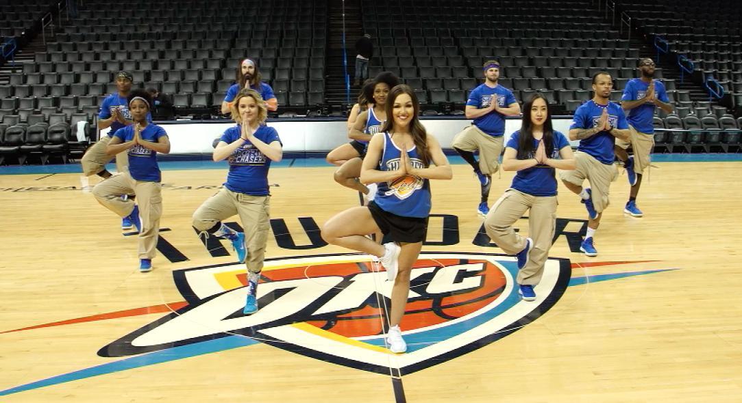 NBA Fit Week // Day 6: Yoga   #FitWeekChallenge