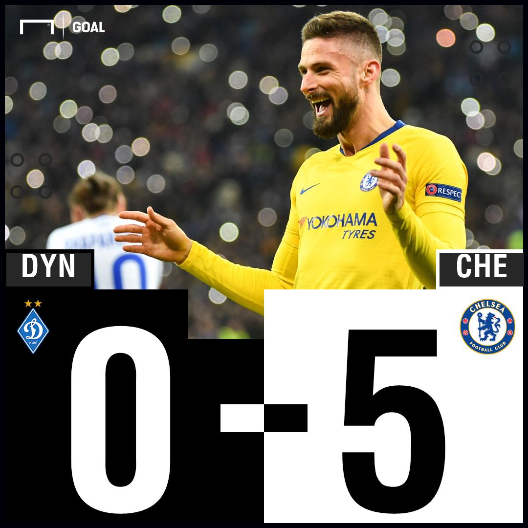 Hat-trick hero Giroud steals the show in a five star performance from Chelsea!   #DYNCHE <br>http://pic.twitter.com/vX7xNttgwq