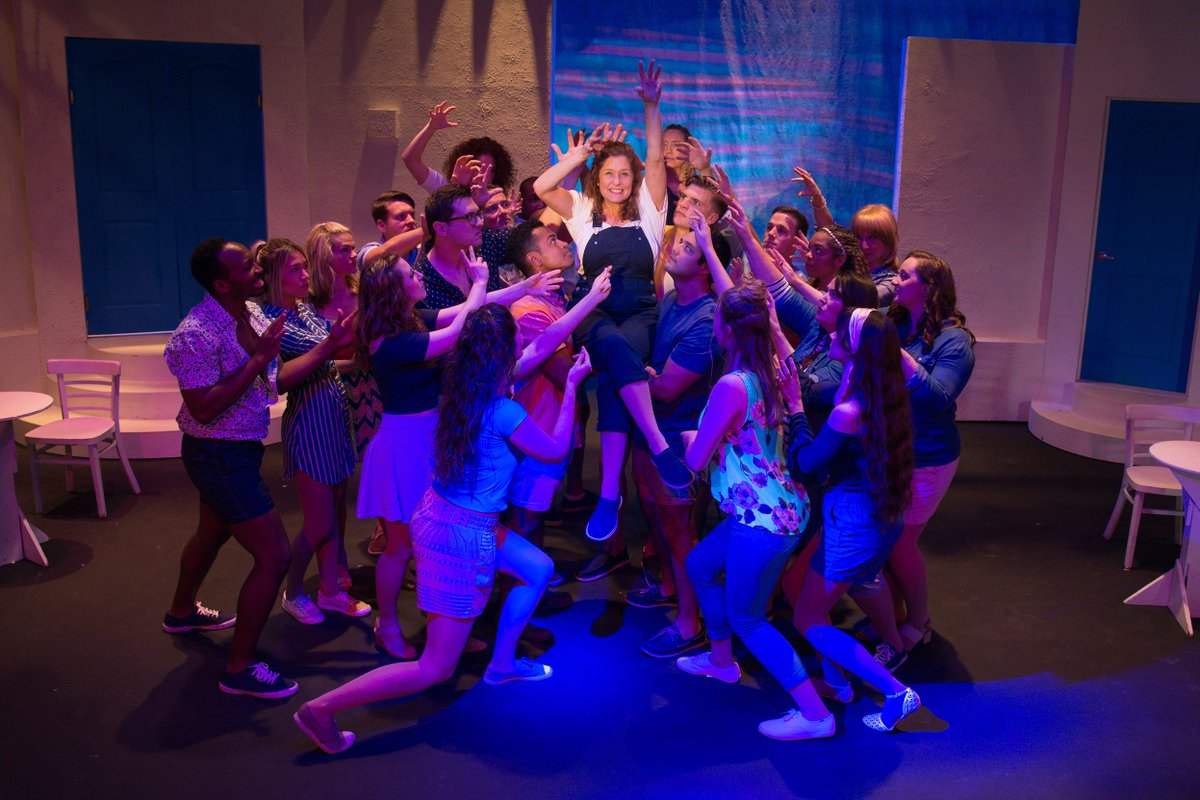 """Yup. Here we go again. @stagecrafterfwb will bring """"Mamma Mia!"""" to the stage starting this weekend. Get the musical details @nwfdailynews @BrendaSnwfdn https://bit.ly/2UJsdfu #MammaMia #musicaltheatre"""