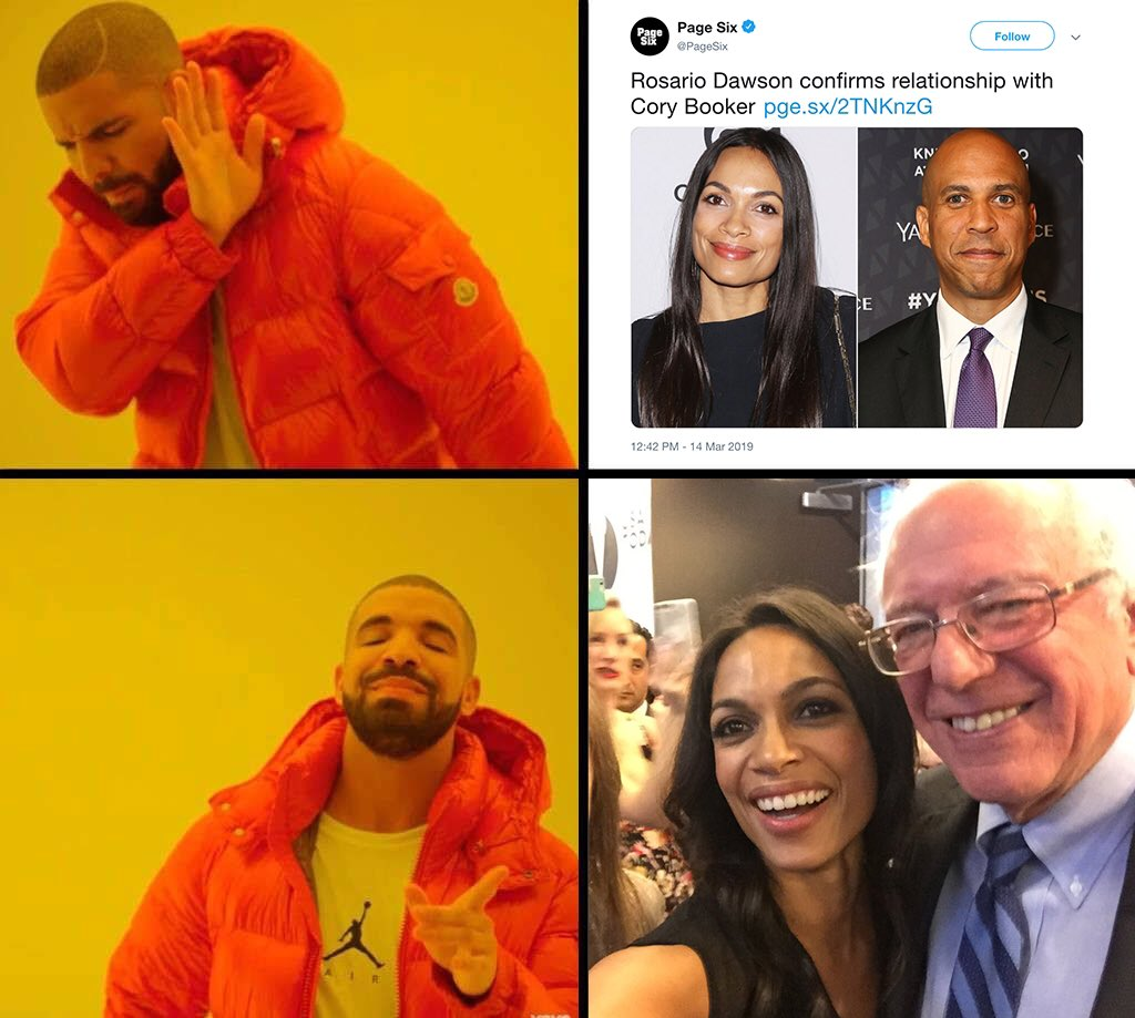 🌹 Clark Feels The Bern's photo on Rosario Dawson