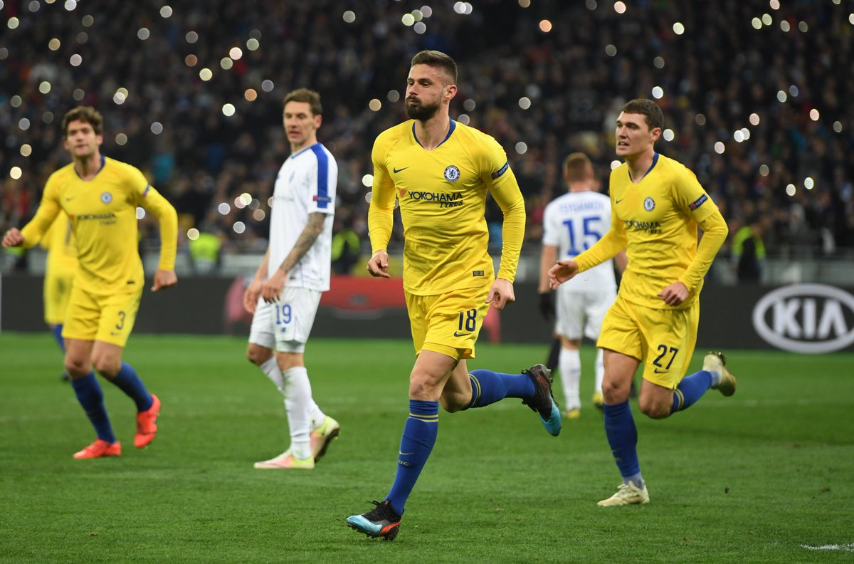9 goals in Europe makes @_OlivierGiroud_ the competition&#39;s top scorer this season!   #DYNCHE <br>http://pic.twitter.com/XhmiIavuZk