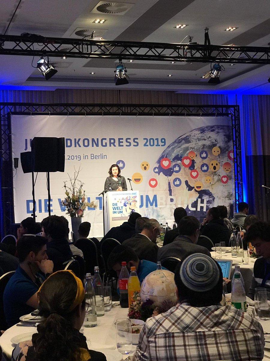 """.@DoroBaer """"Wir können den gesellschaftlichen Entwicklungen unsere Werte aufdrücken. Wir müssen mit gestalten, damit es auch unseren Kindern besser gehen wird, als den Generationen vor ihnen."""" #Juko19"""