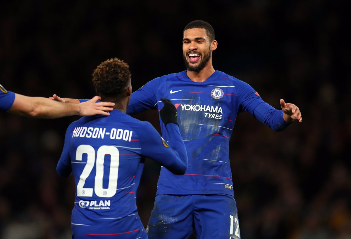 Hudson-Odoi when he starts:  Starts: 7 Goals: 4 Assists: 4  Loftus-Cheek when he starts:  Starts: 9 Goals: 4 Assists: 1  Genuinely don't know what more these guys can do to break through in the Prem. #DYNCHE <br>http://pic.twitter.com/T4LKAtjFvo
