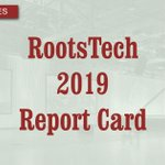 Image for the Tweet beginning: RootsTech 2019 Report Card