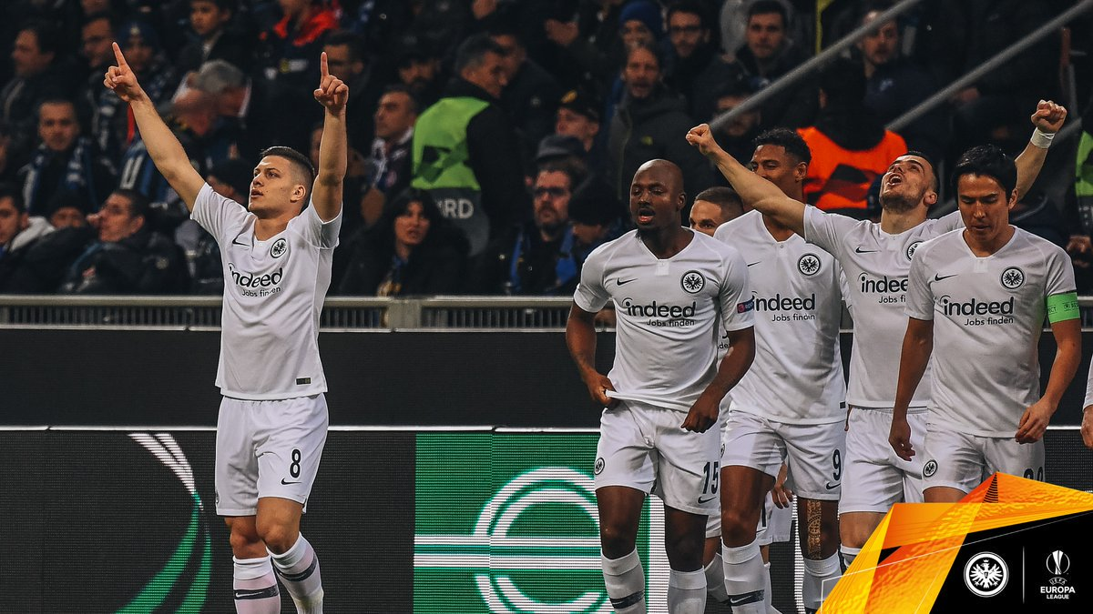 That was Luka Jovic&#39;s th goal in the @EuropaLeague this season!   #SGEuropa #InterSGE | 0-1 <br>http://pic.twitter.com/O1sRRl9jiY