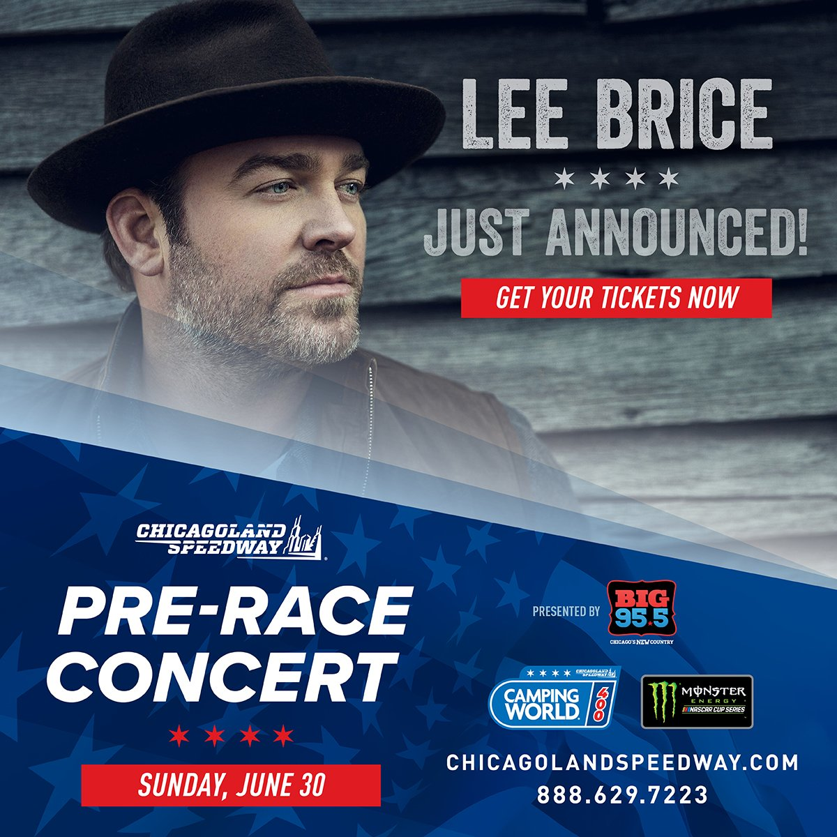 lee brice @ big955chicago