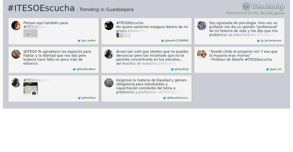Trends Guadalajara's photo on #ITESOEscucha