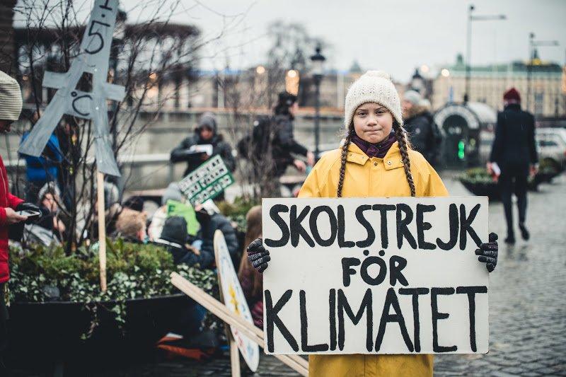 Greenpeace's photo on #HuelgaPorElClima