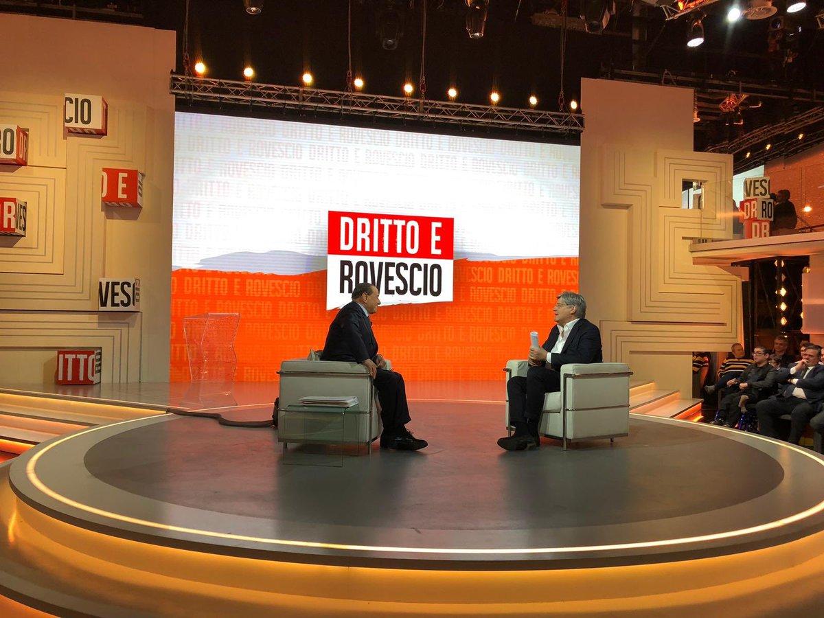 Silvio Berlusconi's photo on #drittoerovescio