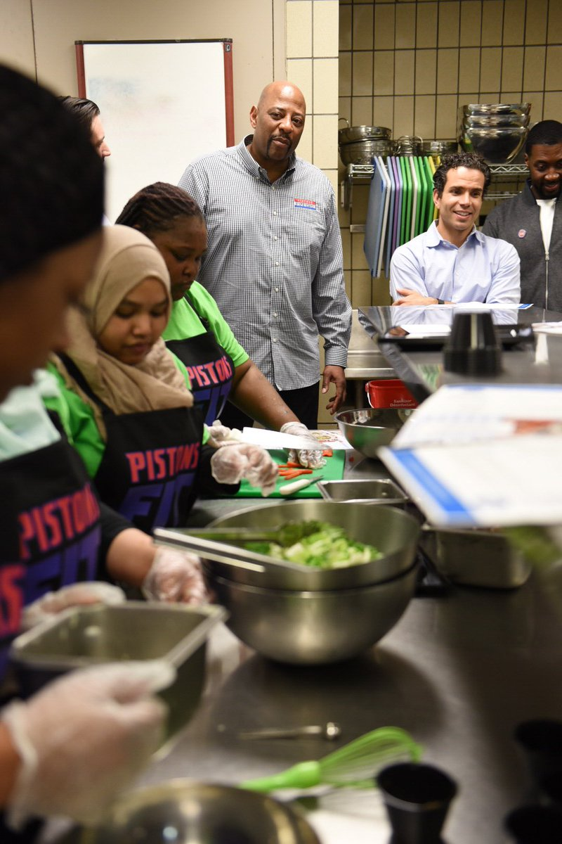 Teamwork makes the dream work! Students are focused and working quick to prepare their dish for the judges in less than 30 minutes!