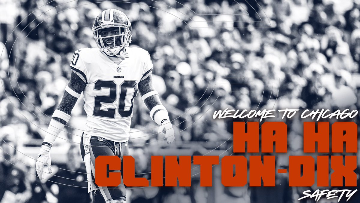 We have signed Ha Ha Clinton-Dix to a one-year deal.  , @haha_cd6! <br>http://pic.twitter.com/UorSaUV994