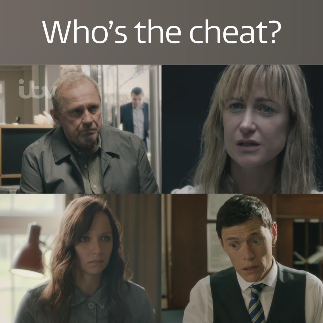 ITV's photo on #Cheat