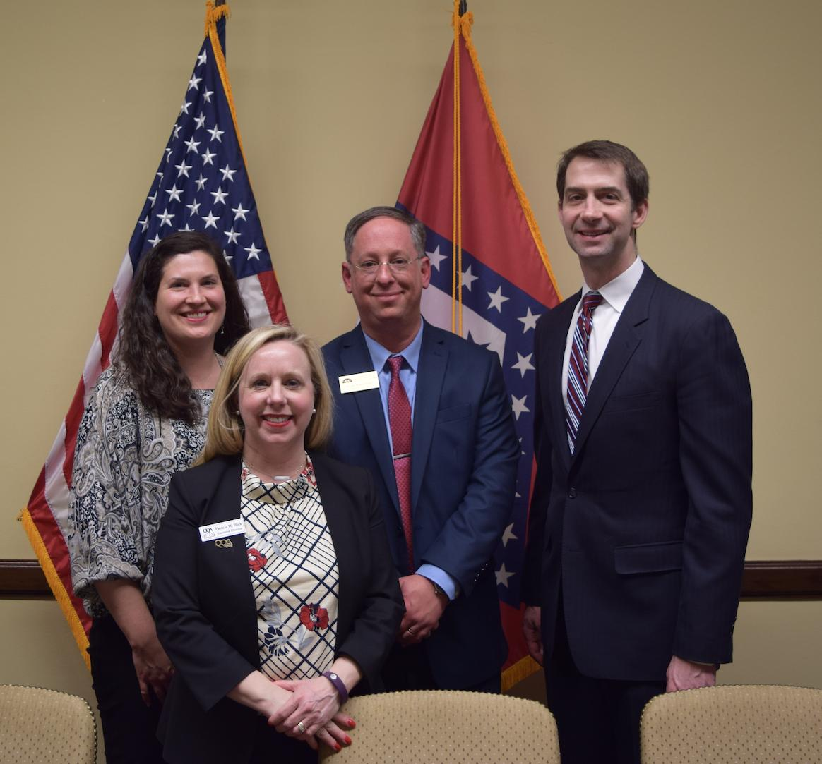 This week I had the pleasure of meeting with @PreserveAR to discuss solutions to maintain our beautiful Arkansas national parks.