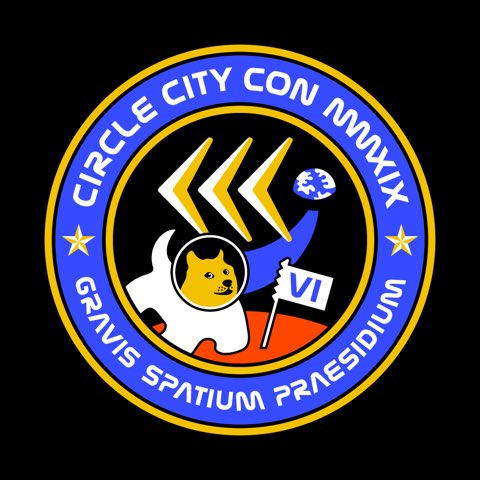 HAILING FREQUENCIES OPEN!  ANNOUNCING THE LOGO AND CONTEST OF @CIRCLECITYCON VI!  This year's theme and contest:  SERIOUS SPACE FORCE!!!1!  Dates: May 31 - June 2, 2019  https:// circlecitycon.com  &nbsp;    Retweet this for a chance to win a free ticket! #SeriousSpaceForce<br>http://pic.twitter.com/YjzUO1ayx5