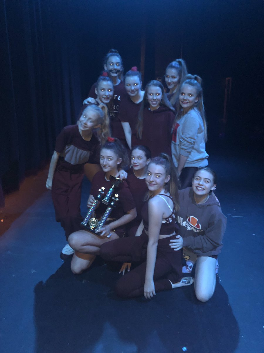 Great Big Dance Off champions! KS3 teams first and second in their group. KS4 team third in theirs. All teams off to the national finals in the summer! #resilience #dance