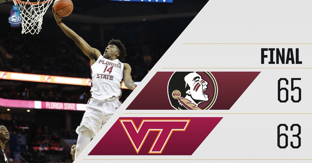 Survive and Advance! #Noles Win  #ACCTourney  #MarchOn