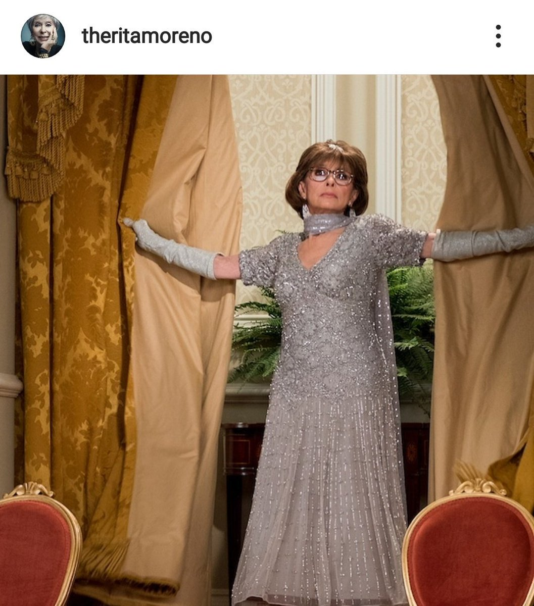 Wow. @netflix Y&#39;ALL DID THAT. YOU MADE THE LIVING LEGEND RITA MORENO SAD. EGOT LEGEND RITA MORENO WAS IN YOUR SHOW AND YOU CANCELED IT. The idiocy is unimaginable... #SAVEODAAT<br>http://pic.twitter.com/zJiIpoB4PE