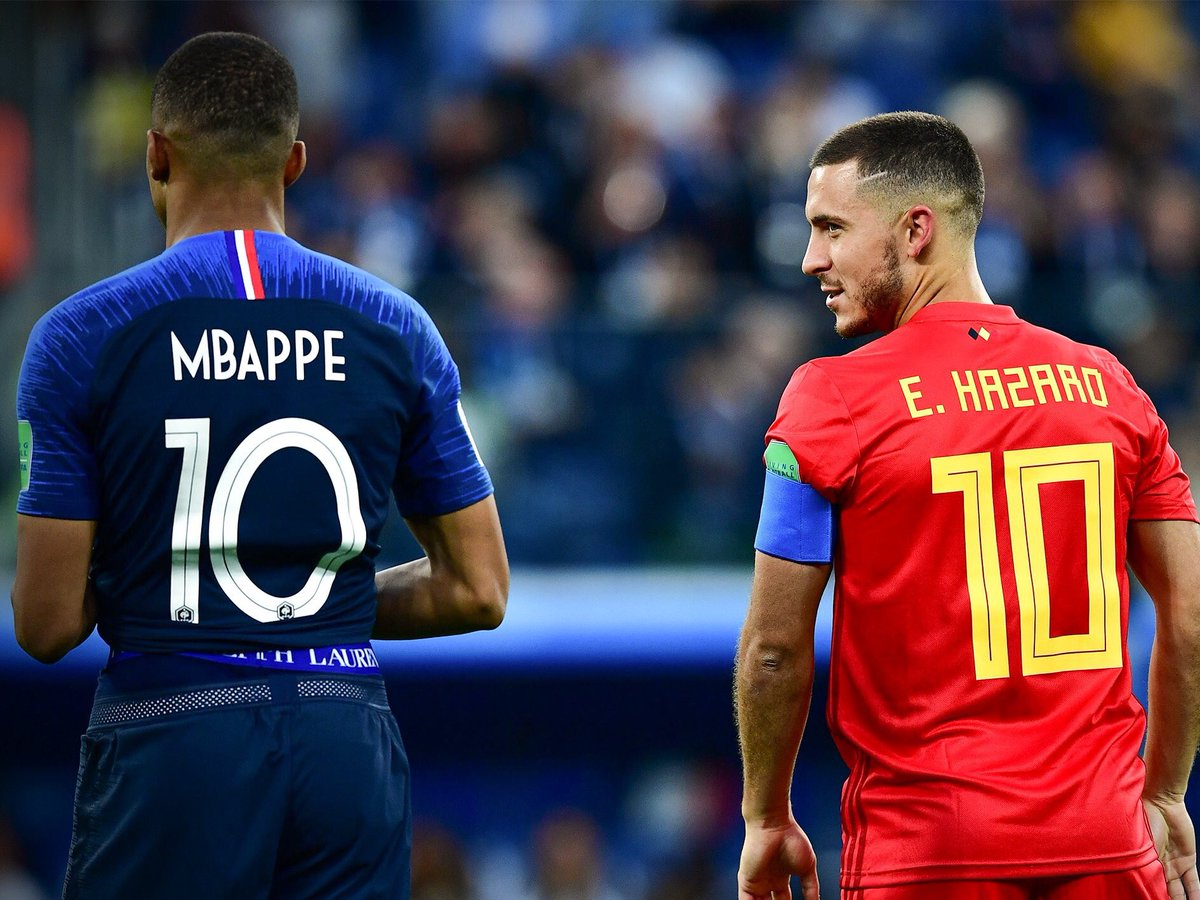 Announce Mbappé and Hazard cabrones