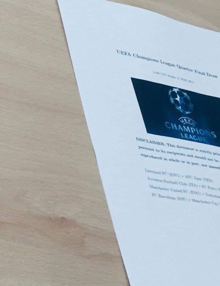 We already got ManCity, UEFA is rigged...