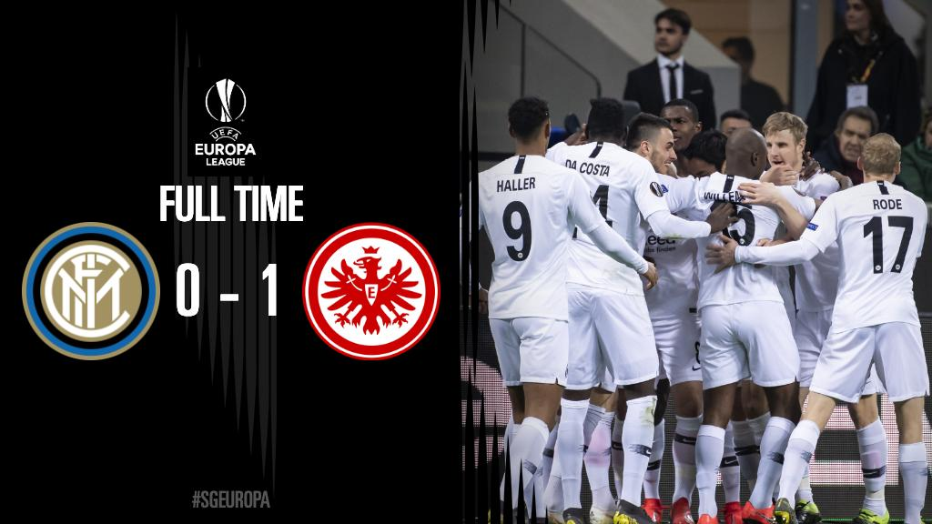 Thank U, Next   Quarterfinals, here we come! #SGE | #SGEagles  | #SGEuropa | #InterSGE | #UEL<br>http://pic.twitter.com/IsWZQfxK4O