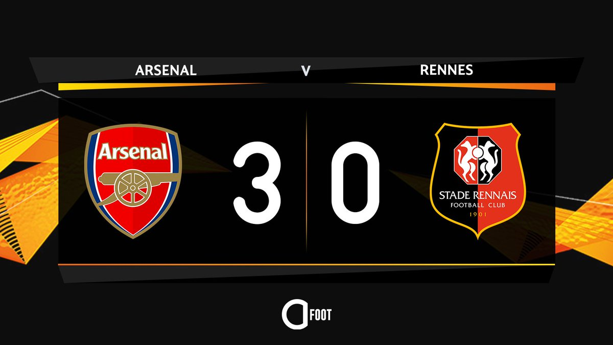 Actu Foot's photo on Arsenal 3-0 Rennes