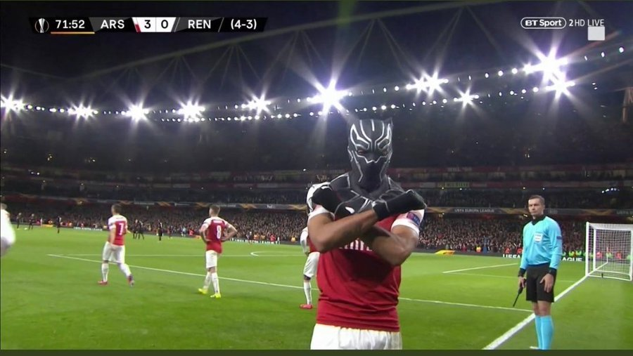 Terry Forbes's photo on #Aubameyang