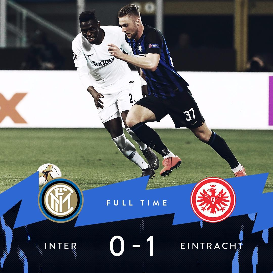 | FULL-TIME   It&#39;s all over here at the Meazza.  #InterEintracht #UEL<br>http://pic.twitter.com/6b7hWu2OyF