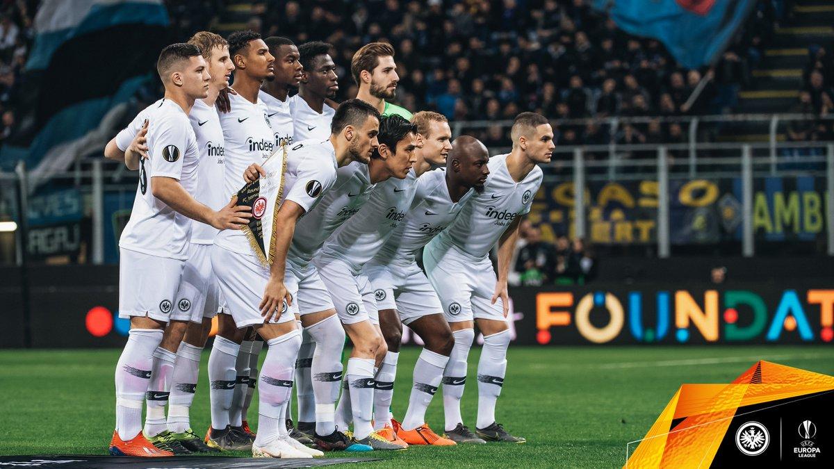 #Infotweet: Das ist Europas beste Mannschaft!  😜 #SGEuropa #InterSGE 0:1 https://t.co/3RWssAlM02