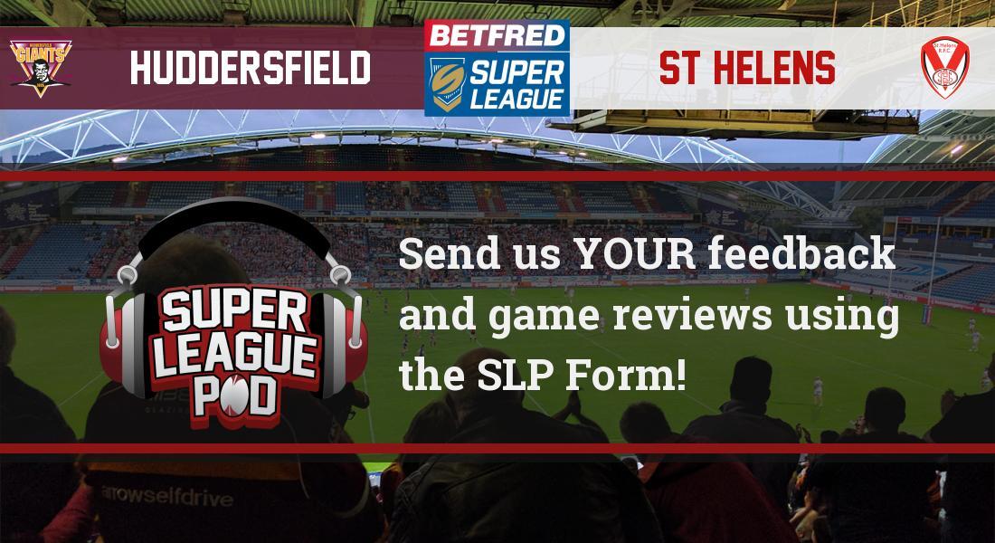 Super League Pod's photo on #SLHudStH