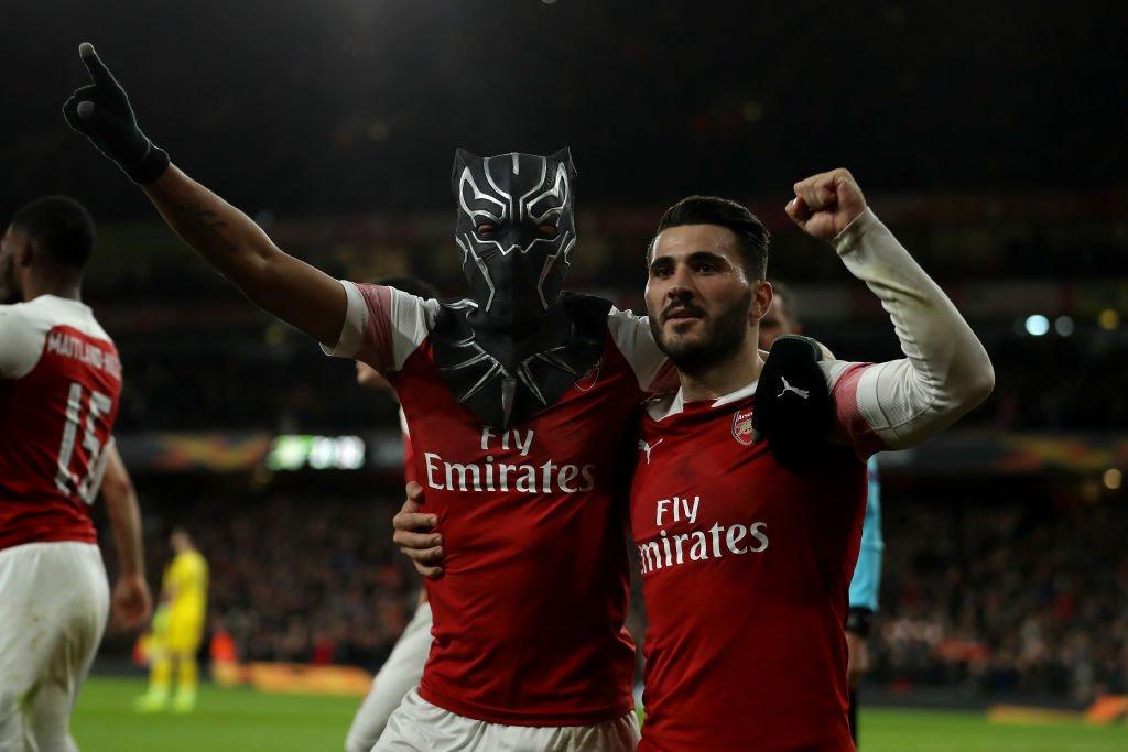 BBC Sport's photo on Pierre-Emerick Aubameyang