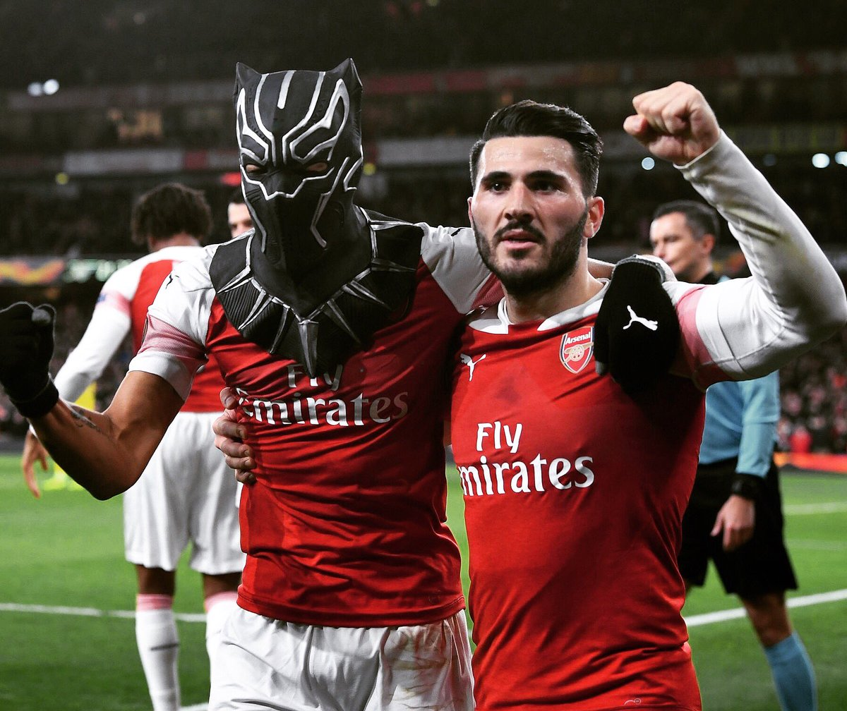 Sead Kolašinac's photo on #BlackPanther
