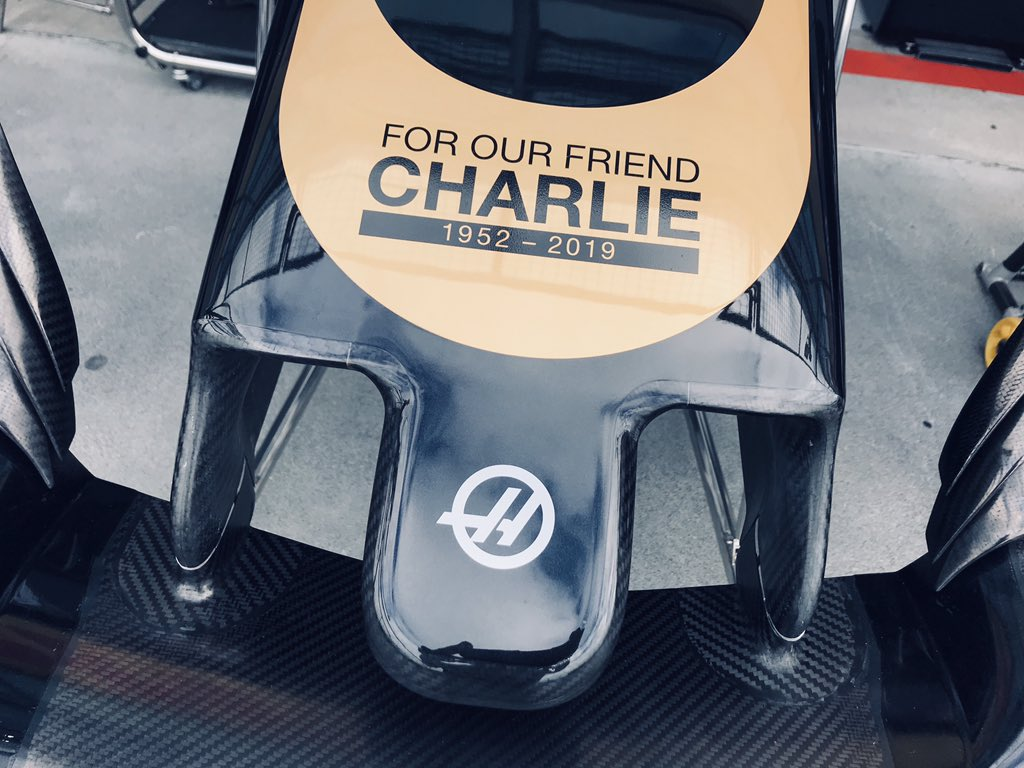 Haas F1 Team's photo on Charlie Whiting