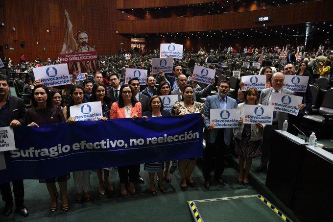 #RevocaciónEsReelección Foto
