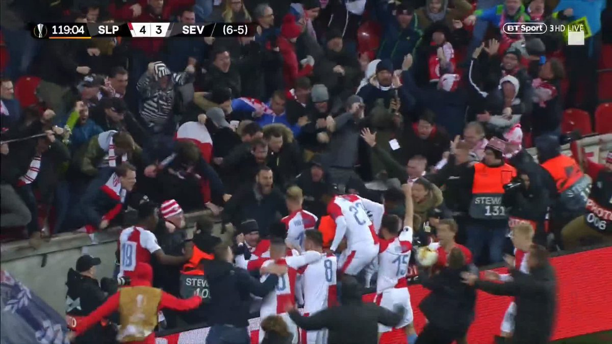 Football on BT Sport's photo on Slavia Prague