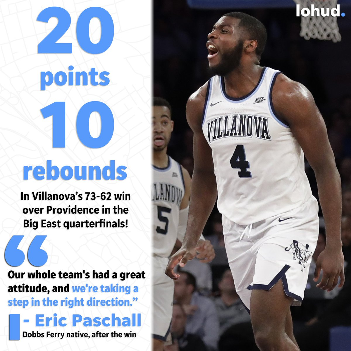 lohud sports's photo on Eric Paschall