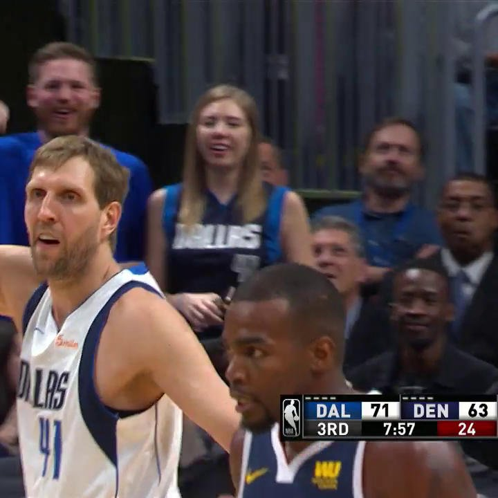 LET IT FLY, DIRK! 🏀  #MFFL