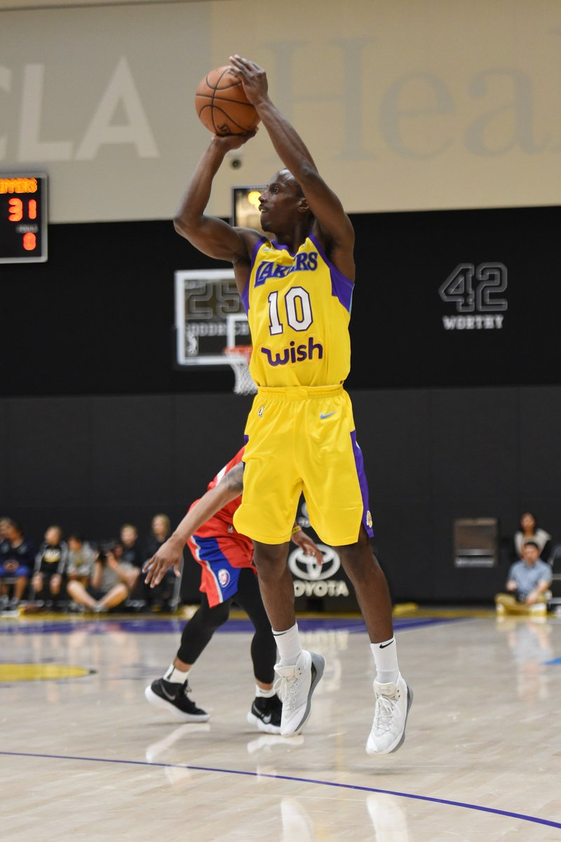 Another @NBA game ✅ for ANDRE INGRAM!  @SouthBayLakers ➡️ @Lakers