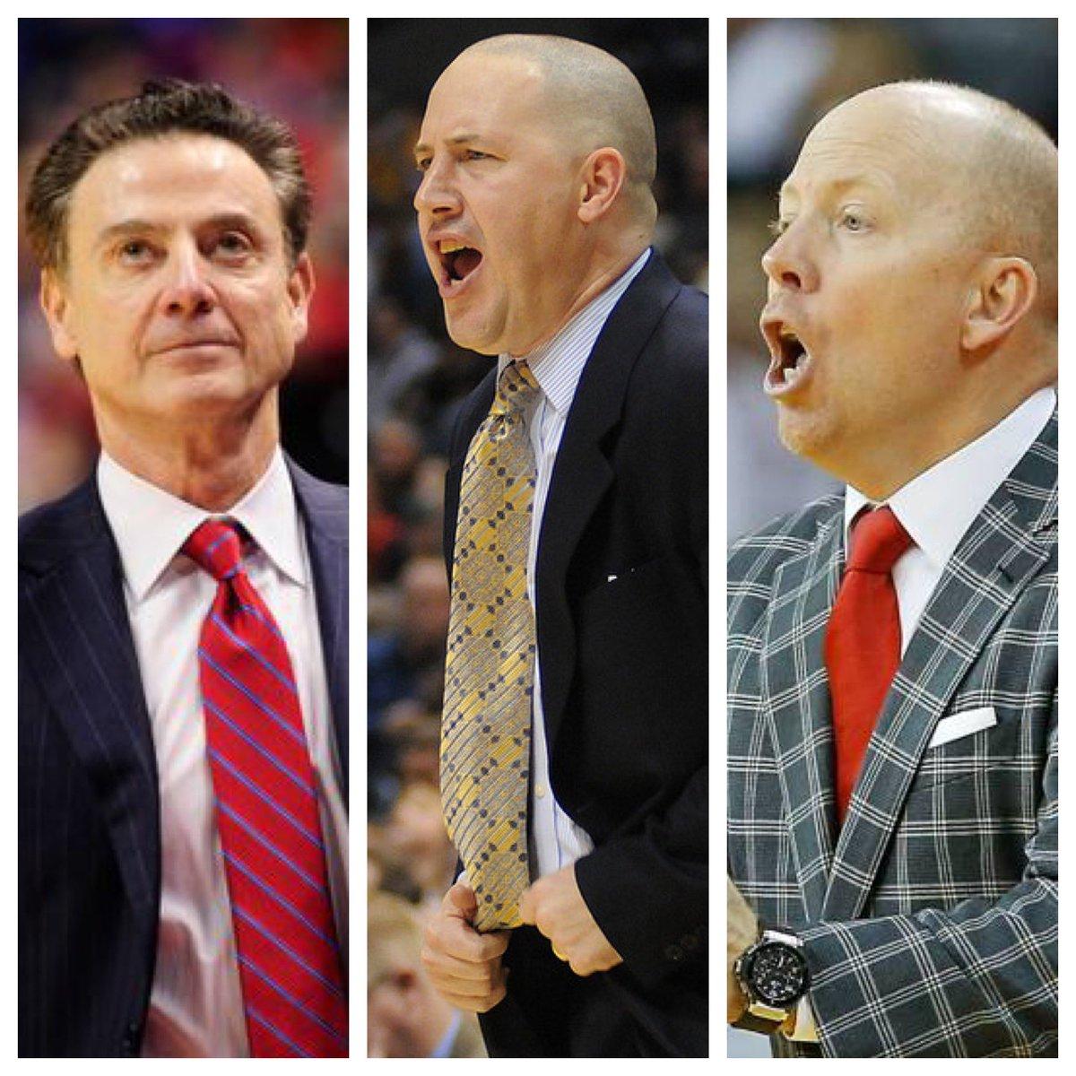 MY Top 3 @UCLAMBB  Coach Candidates   1) Rick Pitino  2) Buzz Williams (Virginia Tech)  3) Mick Cronin (Cincinnati) <br>http://pic.twitter.com/hTTCpHYxJs