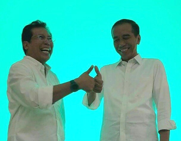 Fadjroel Rachman's photo on #BarengJokowi