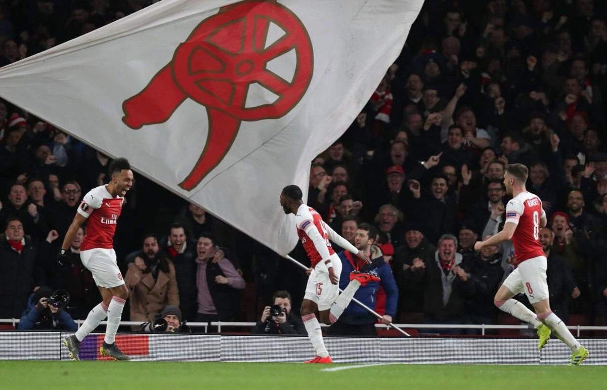 Forward together! We are the @Arsenal !