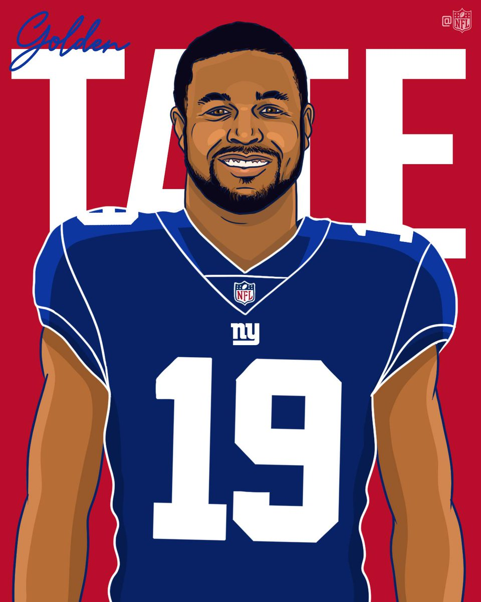 It&#39;s Showtime in New York.  @ShowtimeTate | @Giants<br>http://pic.twitter.com/KXSOAC4JBS