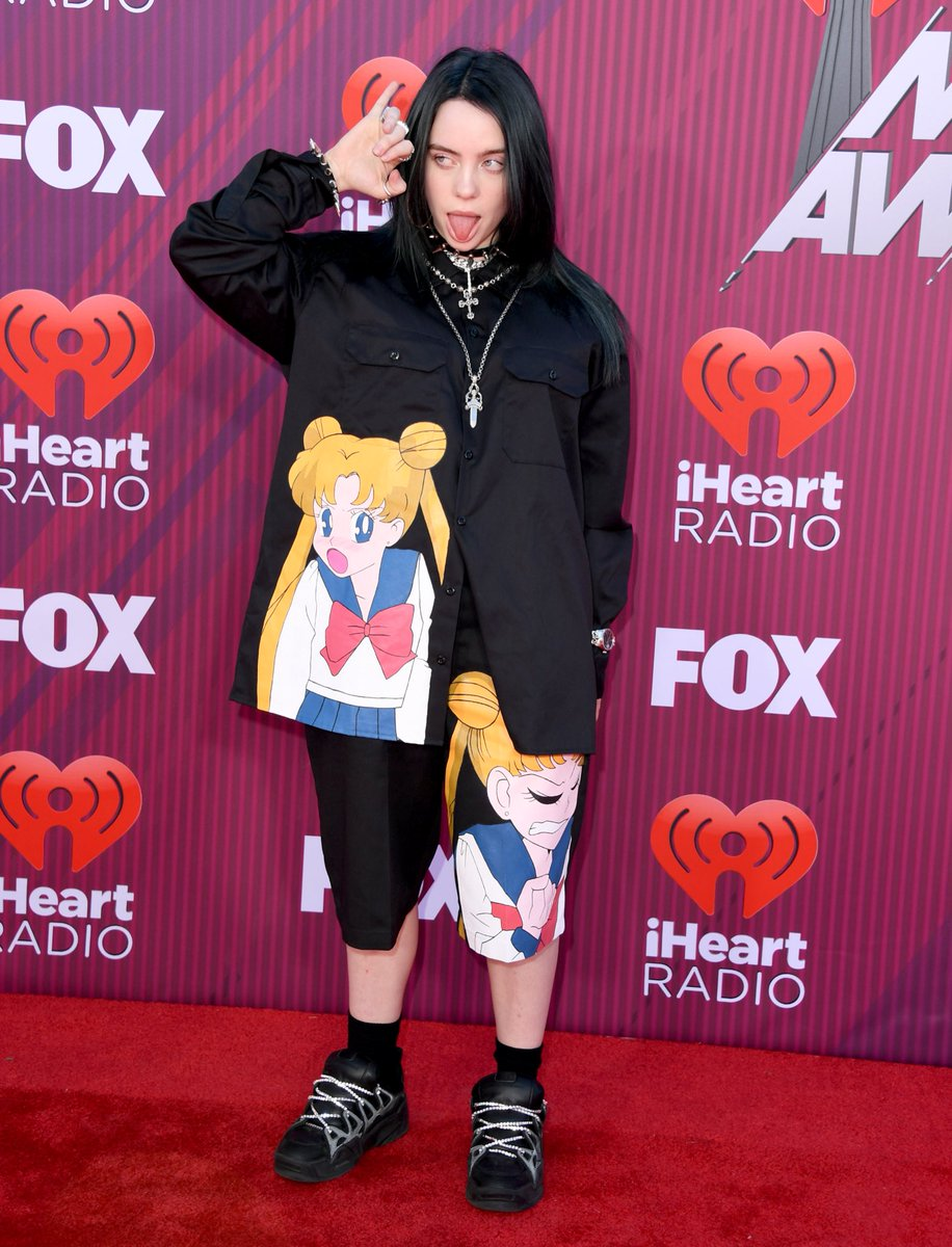 """Complex Sneakers on Twitter: """".@billieeilish said @asvpxrocky's Under Armour SRLo is probably the shoe she's wearing the most on Sneaker Shopping, then showed up to the #iHeartAwards2019 in a pair. 📸: Jon"""