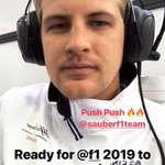 Let's kick off @F1 2019. Good luck @alfaromeoracing !! And if someone is wondering who will win the championship this year I can tell you now..... @Charles_Leclerc , go for it mate 🔥💯