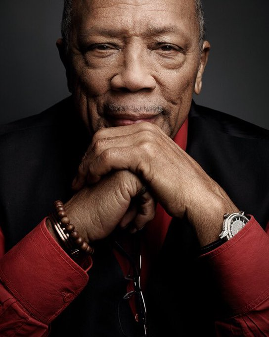 Today we celebrate you for all of your contributions to the world.   Happy Birthday to the legendary Quincy Jones.