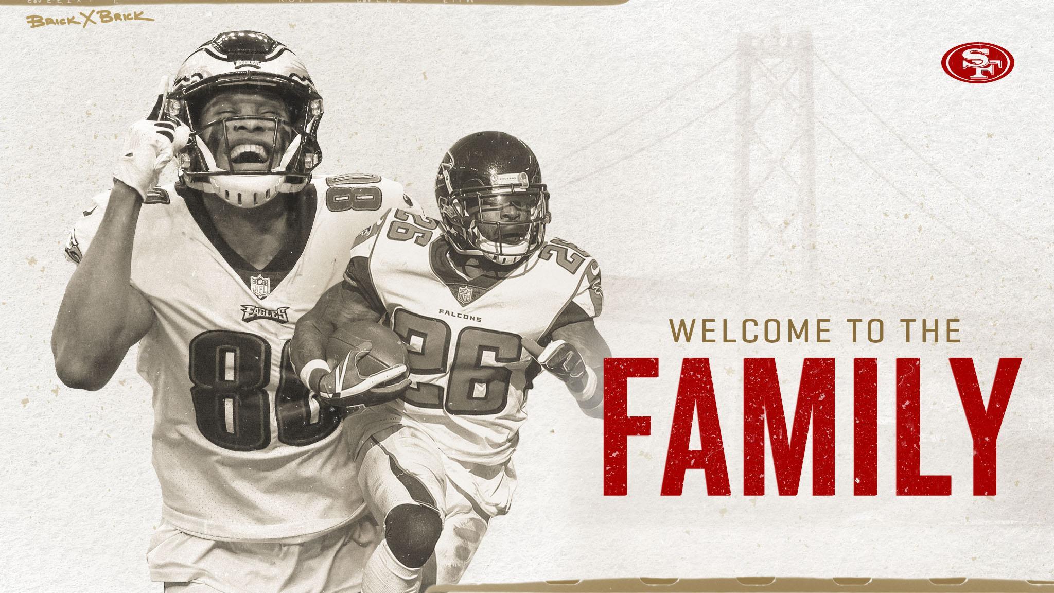The #49ers have announced the signing of Tevin Coleman and Jordan Matthews.  Details: https://t.co/6LI3MFUMl4 https://t.co/jneLeu1Z7G