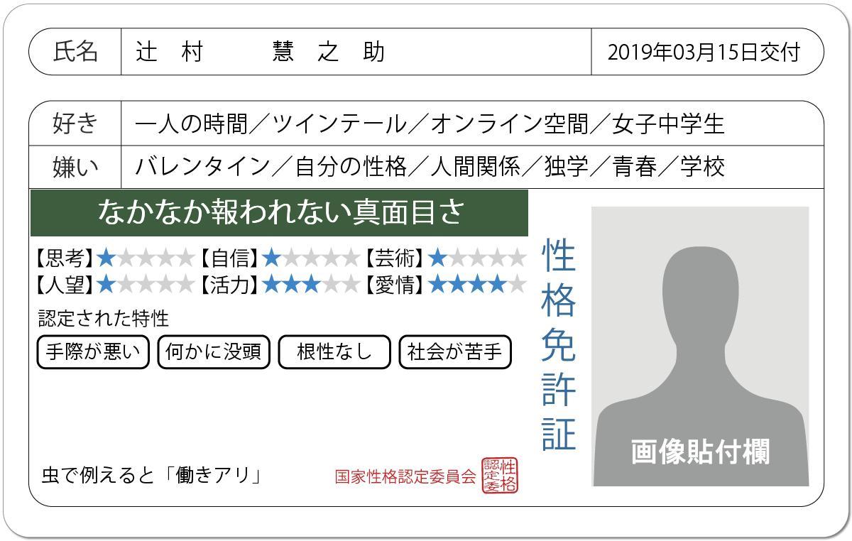 辻村 慧之助.48k's photo on #免許証発行診断