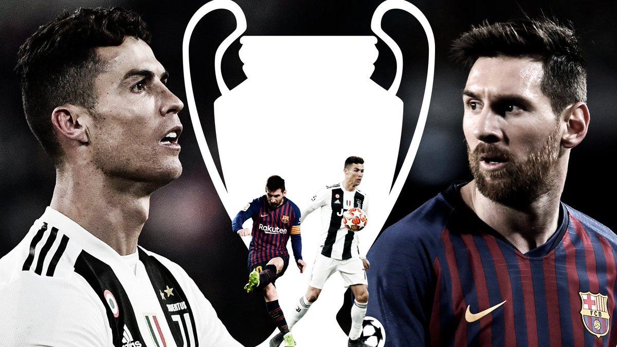 MARCA's photo on Messi vs Cristiano