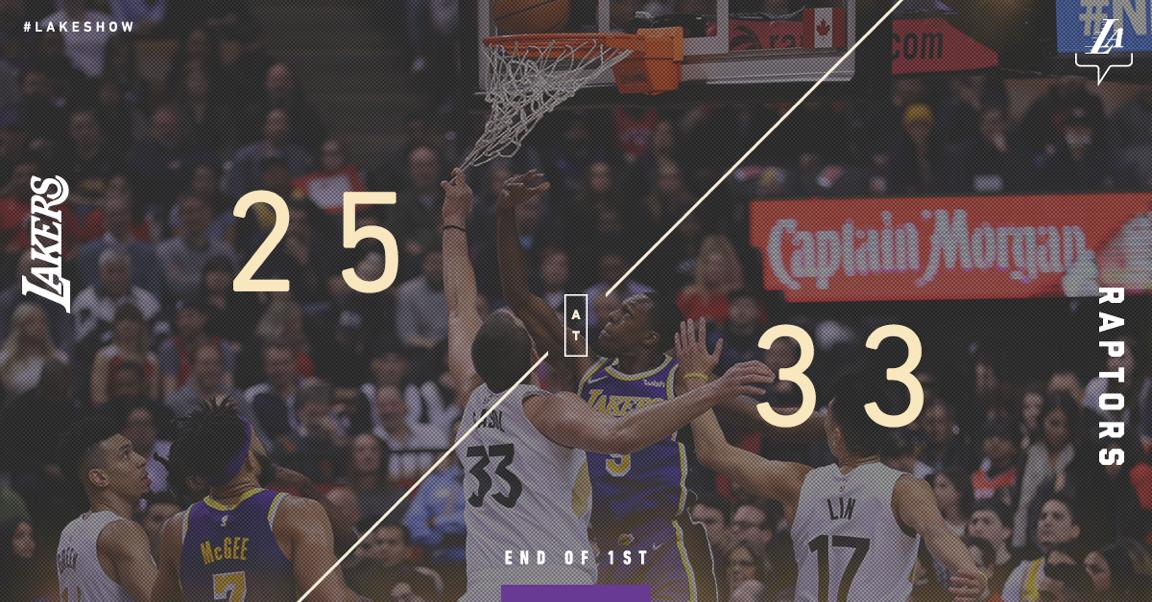 A little bit of everything from Rondo (5 pts, 4 ast, 3 reb) in the first.
